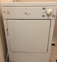 GE Spacemaker (Apartment Size) 110v Dryer
