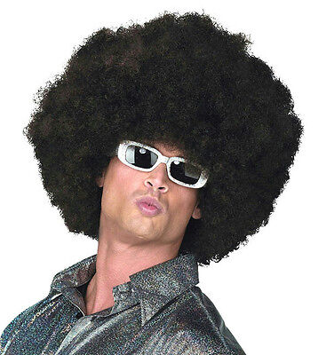 Dark Brown Oversized Afro Wig - Oversized Afro Wig