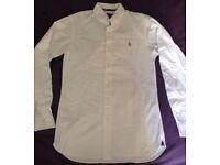 Genuine Ralph Lauren white shirt ( small )