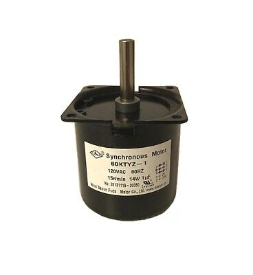 Replacement Stirrer Gear Motor For Great Northern 4 6 Oz Popcorn Machines