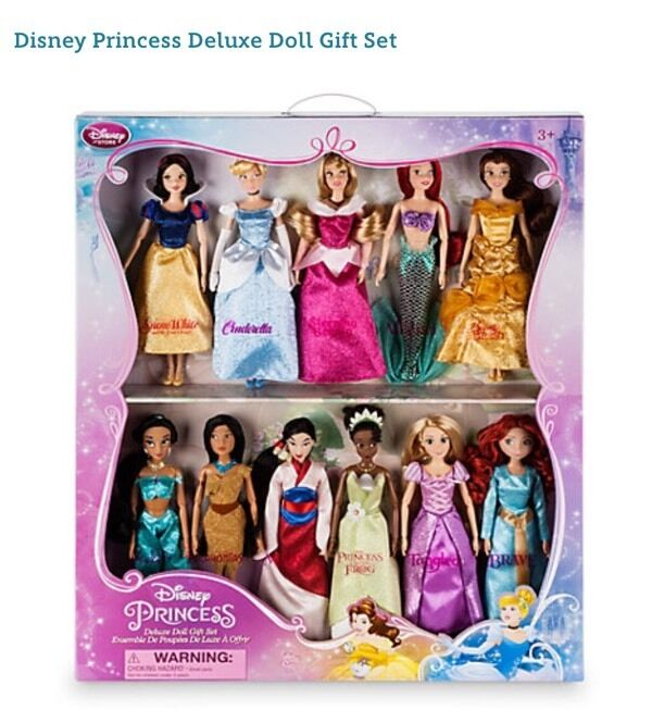 Disney Princess Deluxe Doll Gift Set In Chatham Kent