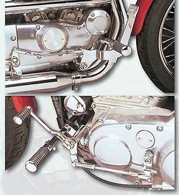 Chrome Forward Controls Complete Kit Harley Davidson Sportster Models 1991-2003