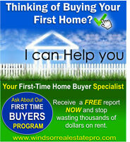 """ATTENTION RENTERS and FIRST-TIME HOME BUYERS!"""