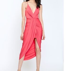 Never worn coral dress!