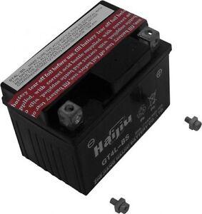 Batterie  12 volts 4 OU 5 ampères POUR VTT 110CC 125CC GTX4L-BS