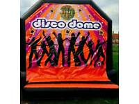 Disco Dome - Fully enclosed bouncy castle