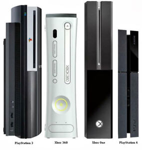REPAIRS XBOX ONE 360 PS4 PS3 Wii PS2 GAMES JEUX REPARATION PARTS