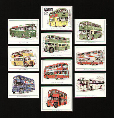 British Buses of the 1960's Cards