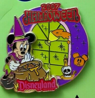 Halloween Event 07 (2007 Disneyland Resort Halloween Witch MINNIE Mouse Disney Event LE1000 Pin)