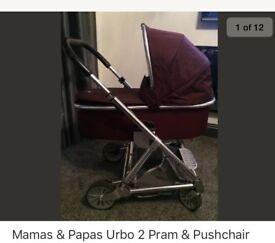 Mamas & Papas Urbo 2 Pram & Pushchair