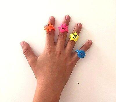 24 pcs Color RINGS Goody Bag Princess Pinata Birthday Party Favors Filler Toys ](Princess Party Pinata)