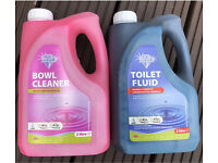 Blue Diamond Twin Pack Toilet Fluid and Bowl Cleaner