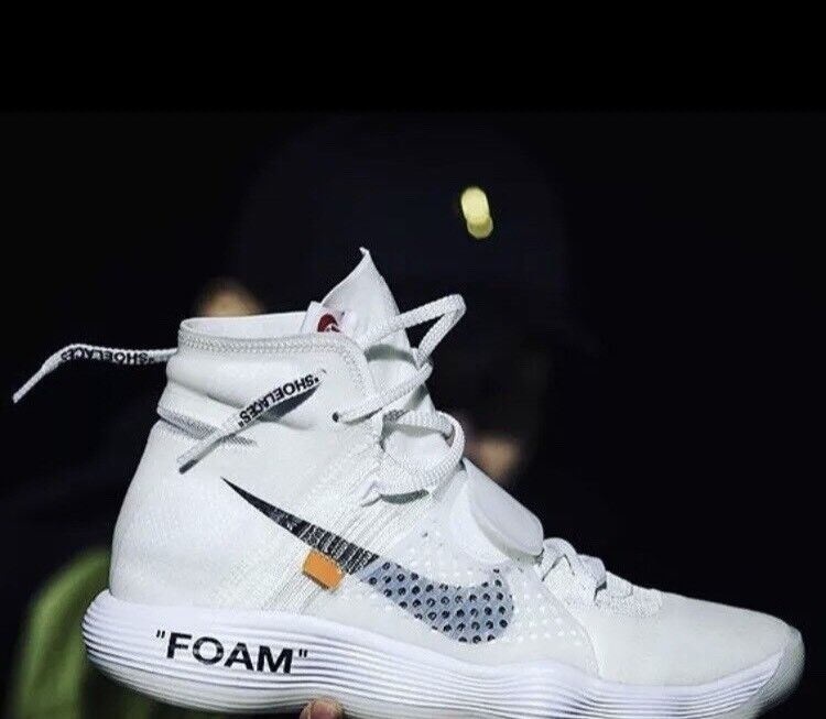 NIKE X OFF WHITE HYPERDUNK UK 9.5 100% AUTHENTIC OFFER ME