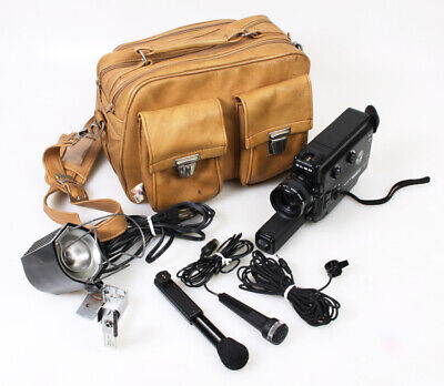 Super 8 Cine/Movie Camera w/Bag   Accessories for sale  Shipping to India