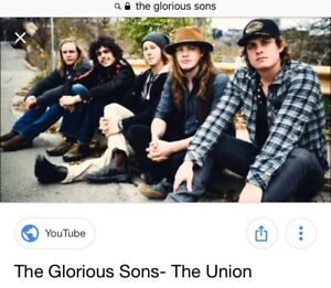 The Glorious Sons Concert Tickets