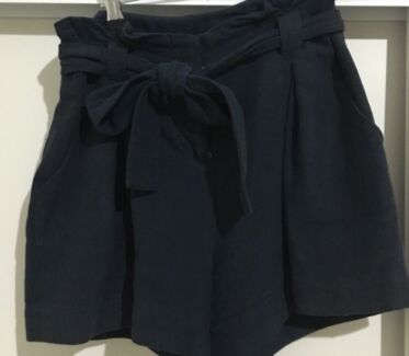 French connection linen shorts