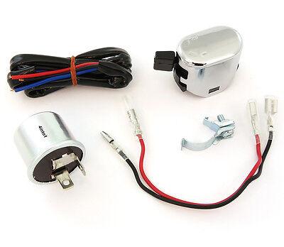 K S Universal Turn Signal Wiring Kit   Relay   Wiring   Switch   Honda Kawasaki