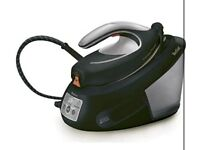 Brand new in box Tefal Express Power SV8062 Steam Generator Iron, 2800 W, Black and Silver