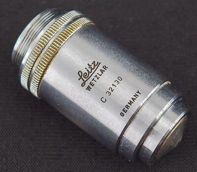 Leitz Wetzlar Pl 40x0.65 1700.17 Laboratory Microscope Objective Lens