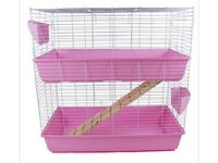 Used 2 story rabbit cage for sale