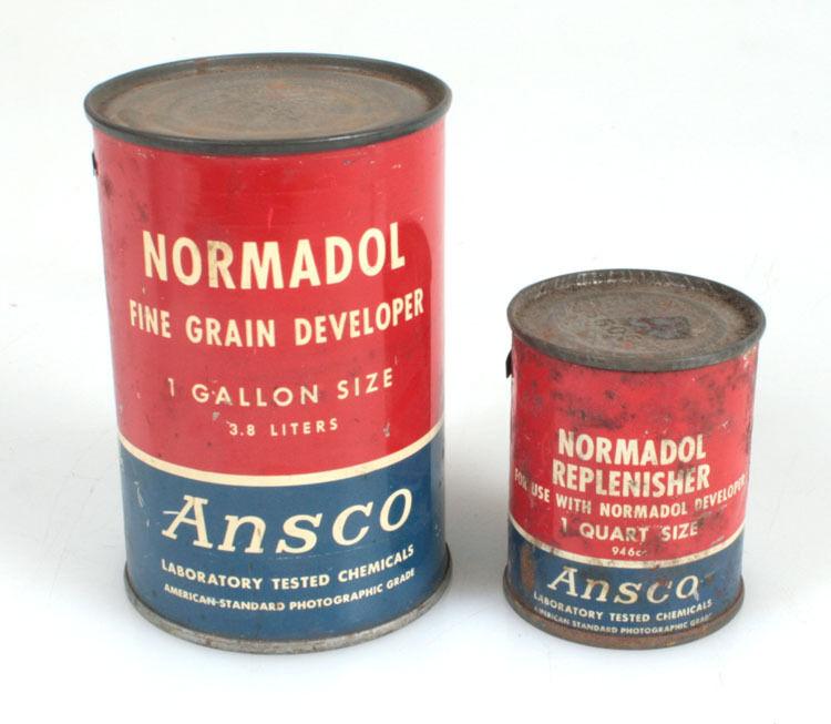ANSCO NORMADOL FINE GRAIN DEVELOPER   REPLENISHER