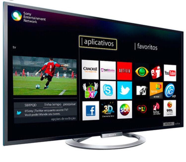 sony kdl 42w805a led smart 3d internet free view full hd tv in redbridge london gumtree. Black Bedroom Furniture Sets. Home Design Ideas