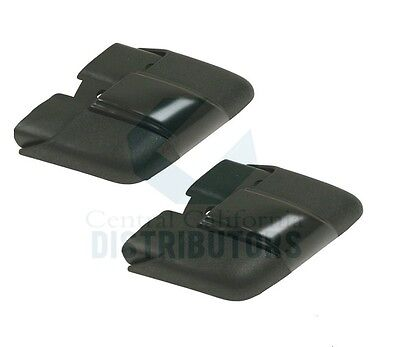 BUMPER END CAPS REAR LEFT & RIGHT VW TYPE1 BUG 1974-1979 133807345 & 133807346