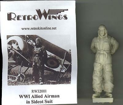 Retrokits Models 1 32 World War I Allied Airman In Sidcot Suit