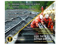 Track Induction Course (TIC) cost only £400 or PTS and Track Induction Course London Wide Only £600