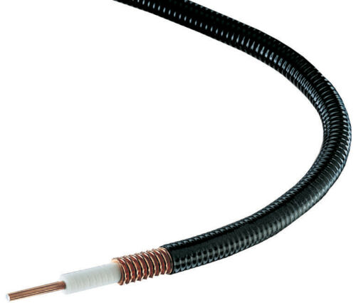"ANDREW 1/2"" HELIAX SUPERFLEXIBLE CABLE FSJ4-50B, 75 Foot Length"