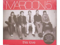 Maroon 5 This Love Single CD Last Chance To Buy