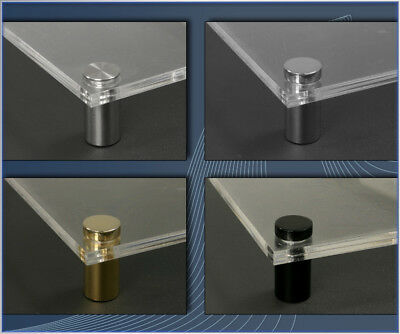 Doppelglas Acryl Schild Praxisschilder Türschilder für Papiereinlagen