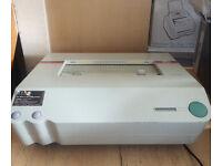 Powis Parker Fastback 15 Thermal Tape Paper Book Binding/Binder Machine