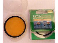Hoya Filters (circular threaded) UV 55mm & Orange 58mm