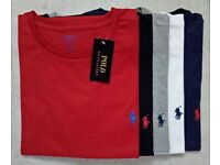 Ralph Lauren Mens Crew Neck Tshirts for Wholesale Only