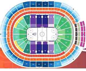 Below Face Value Row 9 Club Oilers vs Ducks Saturday April 1 Edmonton Edmonton Area image 6