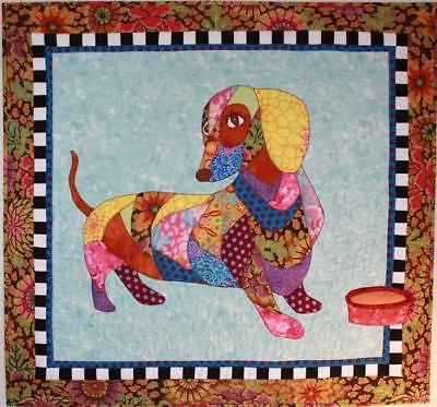 BJ Designs & Patterns Dagwood the Dachshund Wiener Dog Applique Quilt Pattern