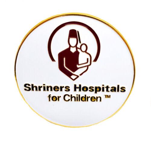 """Shriners Hospitals car emblem 3"""" peel & stick # CH"""