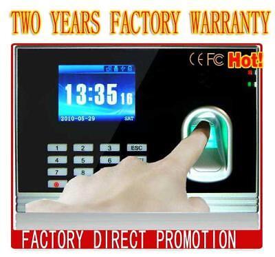 Tcpip Fingerprint Employee Clock Inout Time Attendancefully Support Spanish