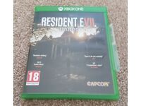 Resident Evil Biohazard - Xbox One Game - As New Condition