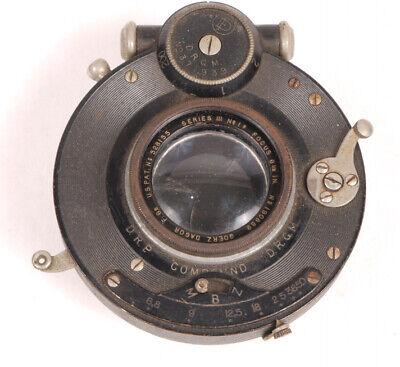 "Goerz 6 1/2"" F6.8 Series III No.1a Dagor Lens - Very Nice for sale  Easton"