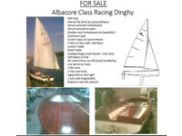 Albacore Class Sailing Dinghy Must Sell