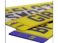 Car motorbike number plates supplier maker made any size