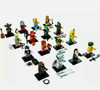 Lego Minifigures Collection Series 16 71013 – Completed Set of 16 (Brand New)