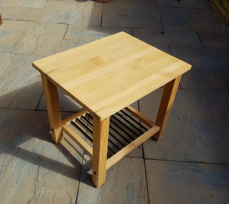 Gumtree Coffee Table Teak: IKEA DALSELV 2 Bedside Tables
