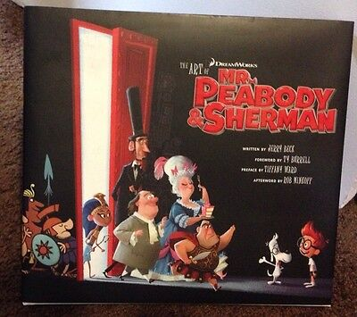 The Art of Mr. Peabody and Sherman by Jerry Beck (2014, Hardcover) Signed (The Art Of Mr Peabody And Sherman)