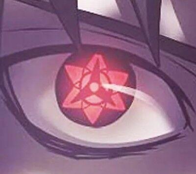 Naruto Sasuke's Mangekyo Sharingan Contacts Cosplay Gear