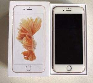 UNLOCKED IPHONE 6S - ROSE GOLD - 32GB