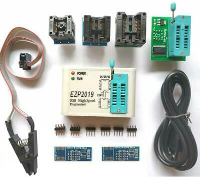 Ezp2019 High Speed Usb Spi Programmer Support 24 25 93 Eeprom Flash Bios