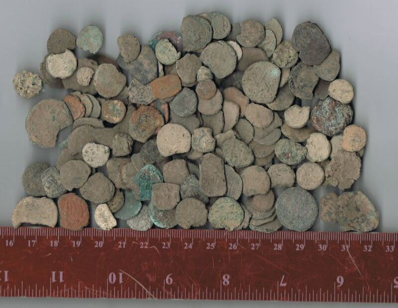 LOT OF 50  ANCIENT COINS FROM JERUSALEM &THE HOLY LAND - 2M YRS OLD
